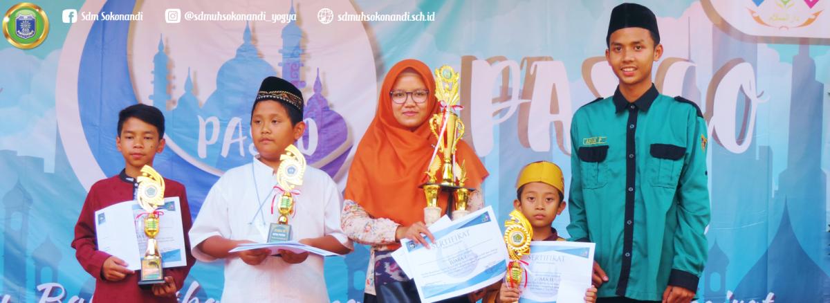 Sokonandi Raih Juara 1 MTtQ dan Pildacil PASCO 2018