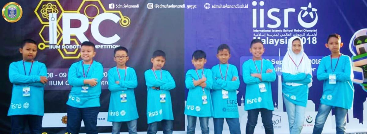 SD Muh Sokonandi Banyak Juara di IISRO 2018 dan IRC 2018 Malaysia