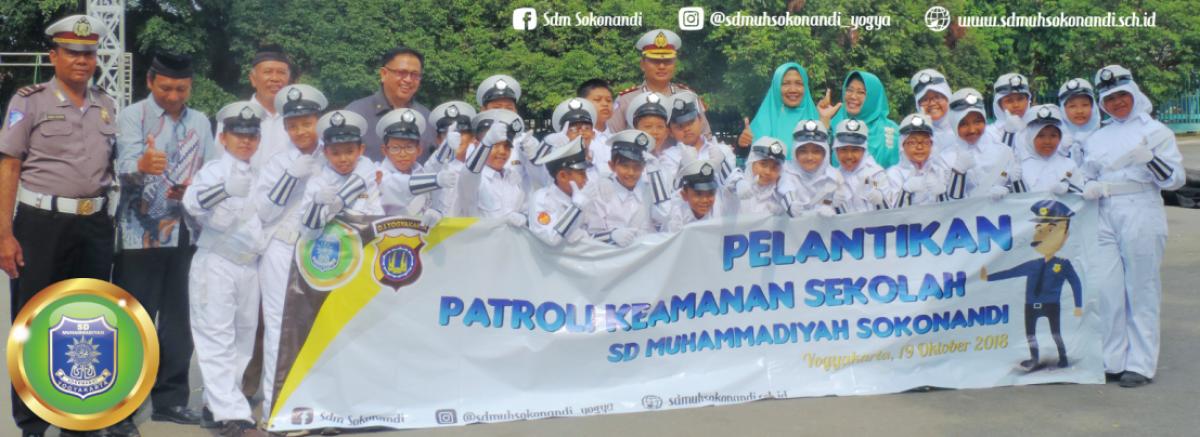 SD Muhammadiyah Sokonandi Melantik 156 Siswa Siswi PKS