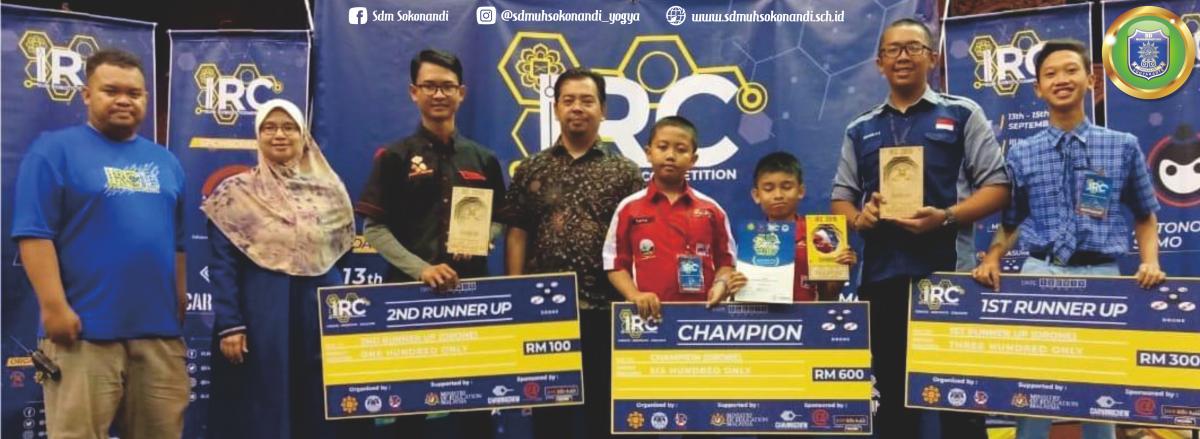 Halla dan Tata Juara 1 Drone Race IRC Malaysia 2019