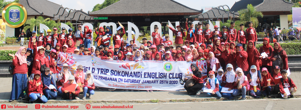 Sokonandi English Club Goes To Prambanan